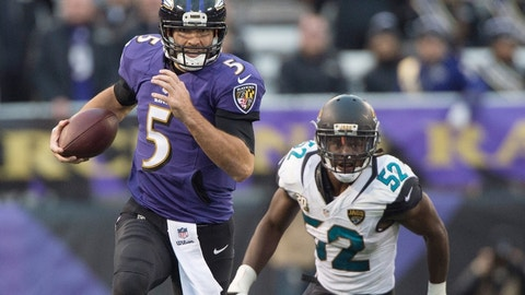September 24: Baltimore Ravens at Jacksonville Jaguars (London), 9:30 a.m. ET