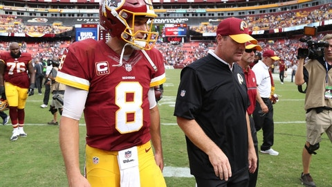 Redskins: Take pressure off Kirk Cousins by running the ball