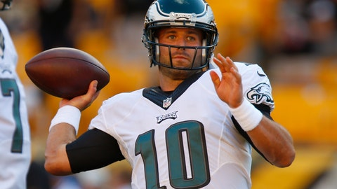 Quarterback: Chase Daniel - Eagles