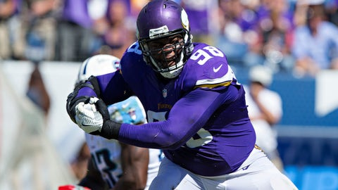 Defensive tackle: Linval Joseph - Minnesota
