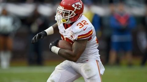 Running Back: Spencer Ware - Kansas City