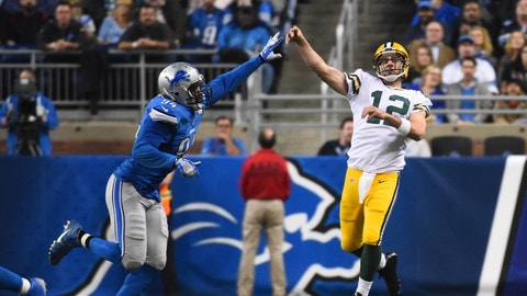 Packers at Lions: 1 p.m., Jan. 1 (FOX)