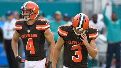 Cleveland Browns (last week: 32)