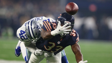Jeremy Langford, RB, Bears (ankle)