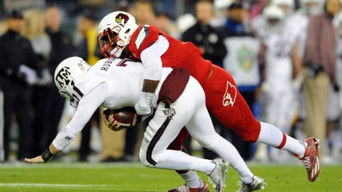 Louisville's defense is really good