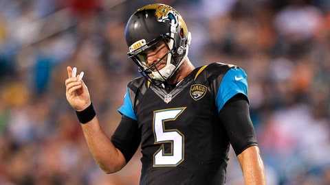 Jaguars (+3) over BEARS (Over/under: 47)
