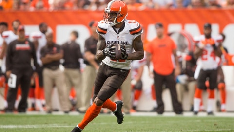 Rising: Cleveland Browns WR Terrelle Pryor