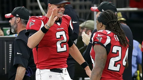 Falcons (+6.5) over SEAHAWKS (Over/under: 46)