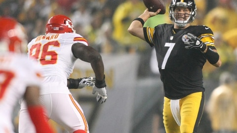 AFC: No. 2 Kansas City Chiefs vs. No. 3 Pittsburgh Steelers