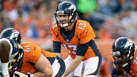 Trevor Siemian, QB, Broncos (shoulder)