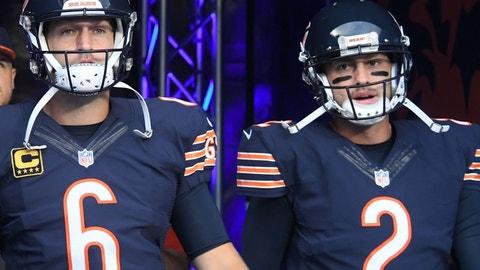 Bears: Cutler, Hoyer, Barkley