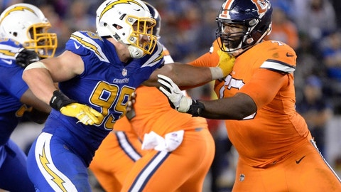 Denver Broncos will not pick up tackle Russell Okung's option