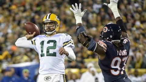 Sunday: Packers at Bears