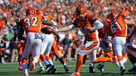 October 1: Cincinnati Bengals at Cleveland Browns, 1 p.m. ET