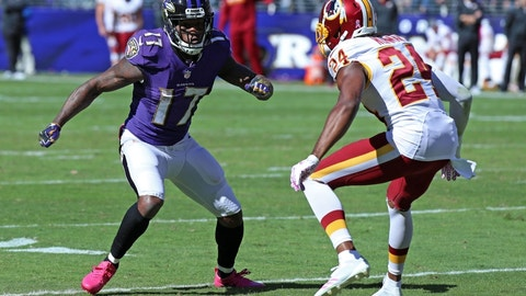 Mike Wallace, Breshad Perriman will take a hit