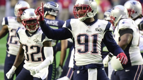 New England traded Jamie Collins