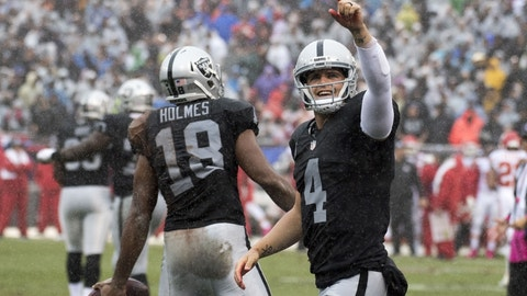 Raiders (+3) over CHIEFS (Over/under: 46)