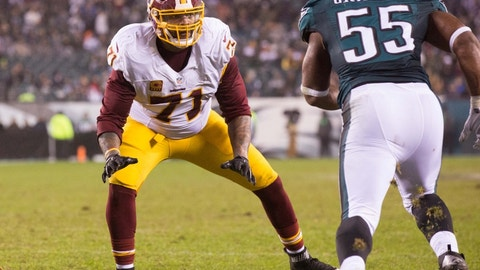Tackle: Trent Williams, Redskins ($13,600,000)