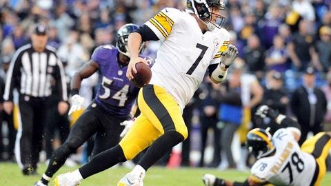 Week 16: Ravens at Steelers, Dec. 25