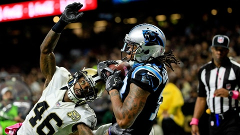 December 3: Carolina Panthers at New Orleans Saints, 1 p.m. ET