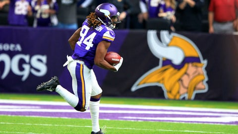 Kick returner: Cordarrelle Patterson, Minnesota Vikings