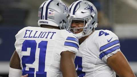 COWBOYS (-7) over Lions (Over/under: 44.5)