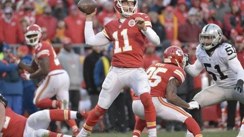 Alex Smith -- Kansas City Chiefs