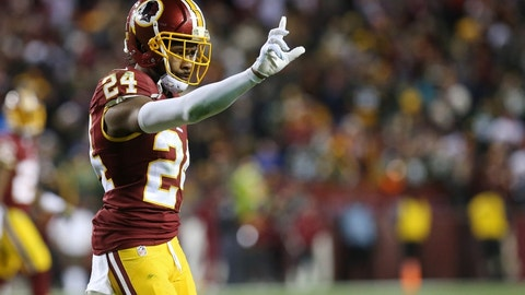 Cornerback: Josh Norman, Redskins ($15,000,000)