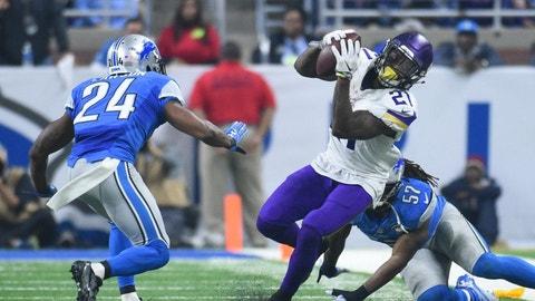 November 23: Minnesota Vikings at Detroit Lions, 12:30 p.m. ET
