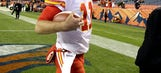 Chiefs' offense keeps floundering – until the end
