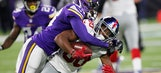 Vikings get WR Diggs, CB Newman back to face Cowboys