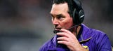 Mike Zimmer won't coach in Thursday night's Vikings-Cowboys game