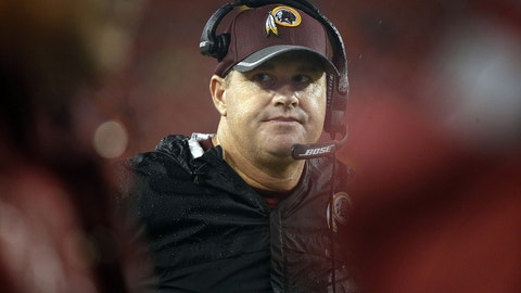 Jay Gruden was conflicted over his team's game-winning score