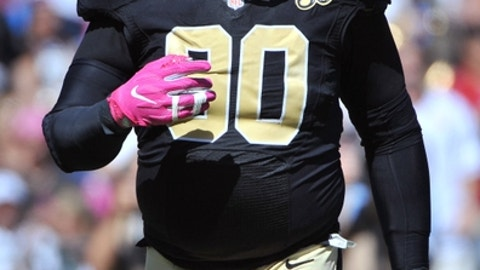 DT Nick Fairley, Saints