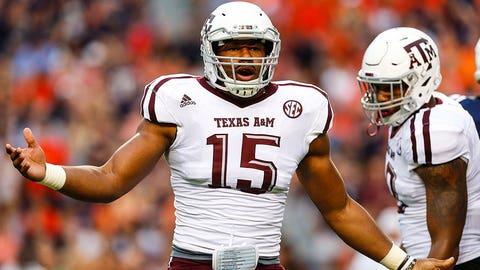 Myles Garrett, DE, Texas A&M (Texas Bowl)