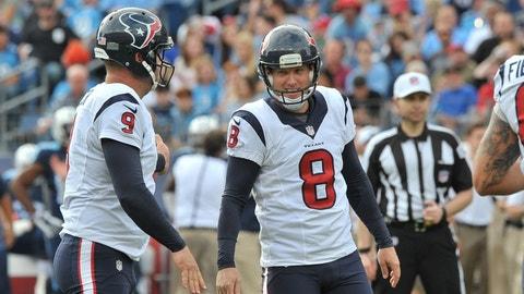 P Shane Lechler, Texans