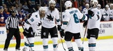 Pavelski's late goal lifts Sharks past Islanders 3-2