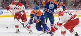 Pitlick gets winner in Oilers' 3-2 win over Hurricanes