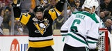 Crosby leads Penguins past Stars 6-2