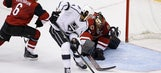 Trevor Lewis breaks tie, Kings beat Coyotes 4-3