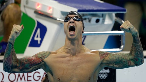 Anthony Ervin - 50-meter freestyle