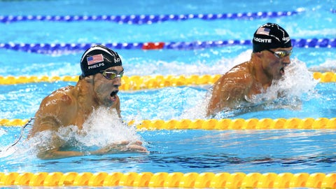 "What is the best ""second fiddle"" comparison in sports to the current situation Ryan Lochte finds himself in, in relation to Michael Phelps as a teammate?"