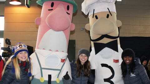 The Polish and Italian sausages are counting down to opening day (and hoping it will be warmer on March 31).