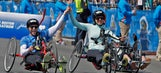Couple finishes Boston Marathon together after losing legs in 2013 bombing