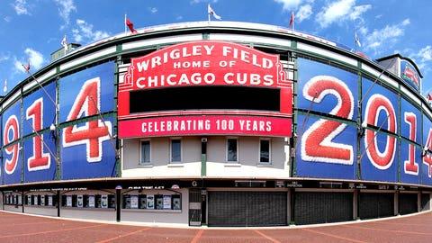 8. (tie) Chicago Cubs