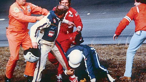Cale Yarborough vs. the Allison brothers, 1979