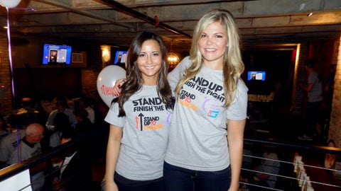 The FOX Sports North Girls attended a Stand Up To Cancer viewing party at The Pourhouse in Minneapolis. Attendees raised money for the cause in addition to watching the 2014 Stand Up to Cancer telethon.