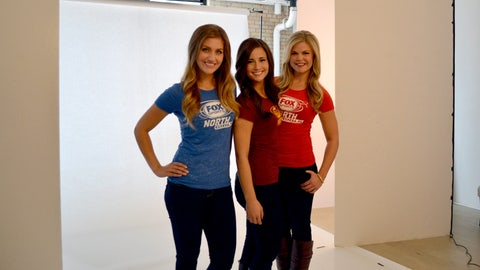 Angie and Kendall welcome new FOX Sports North Girl Jennifer to the team.