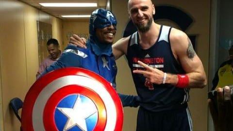 Paul Pierce as Captain America