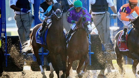 June 7: California Chrome's Triple Crown bid spoiled (Belmont Stakes)